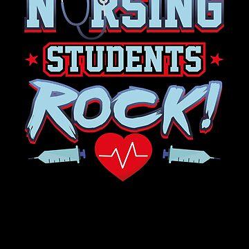 Nursing Students Rock by FairOaksDesigns