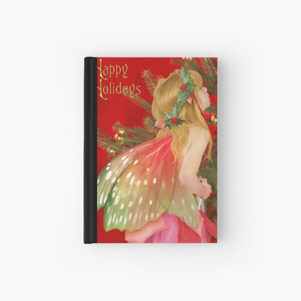 Christmas tree fairy Hardcover Journal