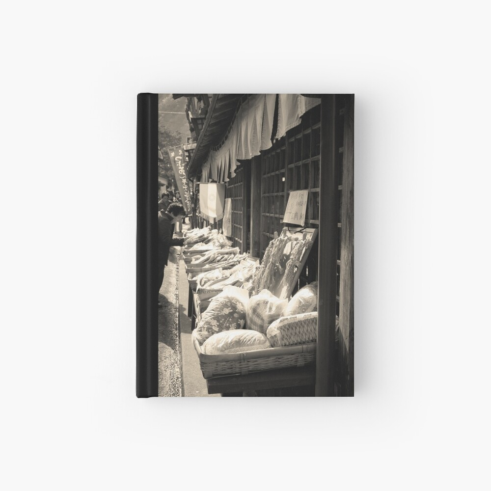 Yabakei Street Market Hardcover Journal