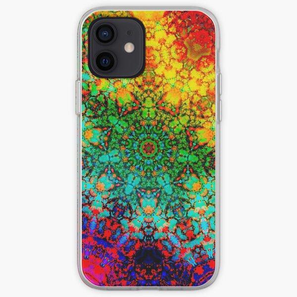 Crystal Rainbow Funda blanda para iPhone