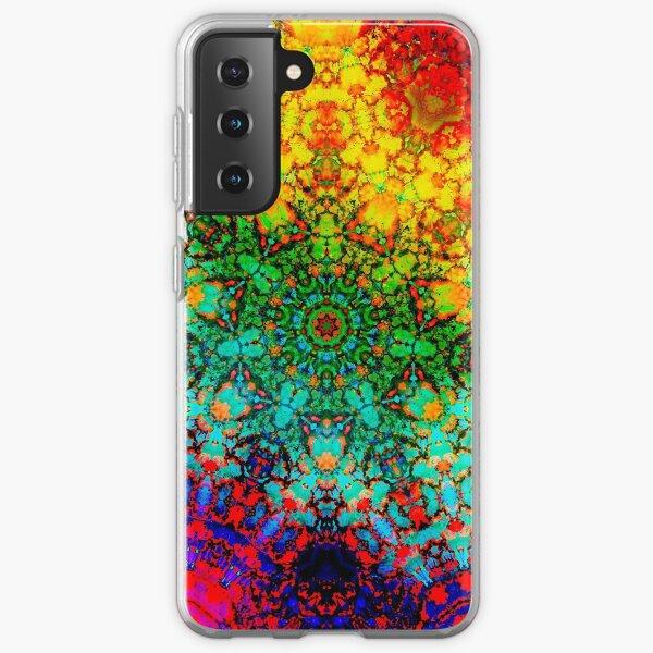 Crystal Rainbow Samsung Galaxy Soft Case