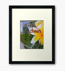 Cheers Framed Print