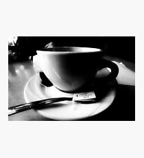 Tea Cup Photographic Print
