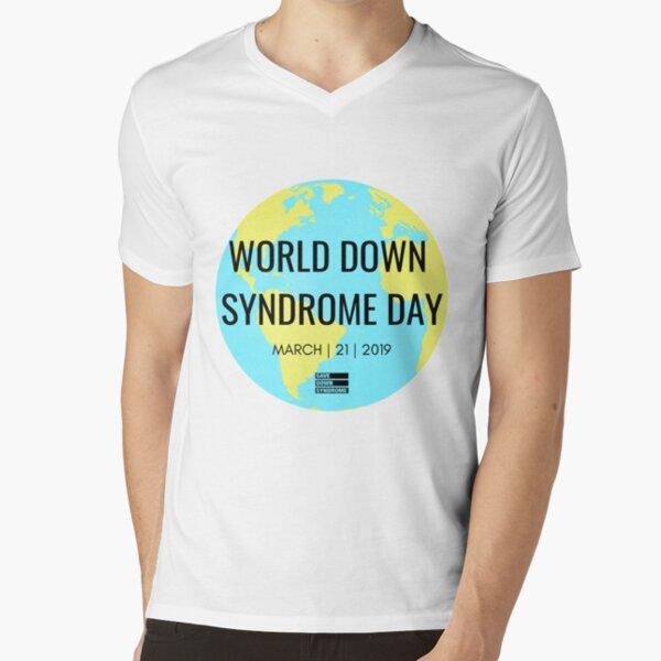 World Down Syndrome Day 2019 V-Neck T-Shirt