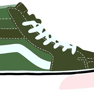 hola top vans verde de cgidesign2
