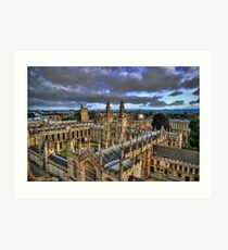 All Souls College, Oxford University Art Print