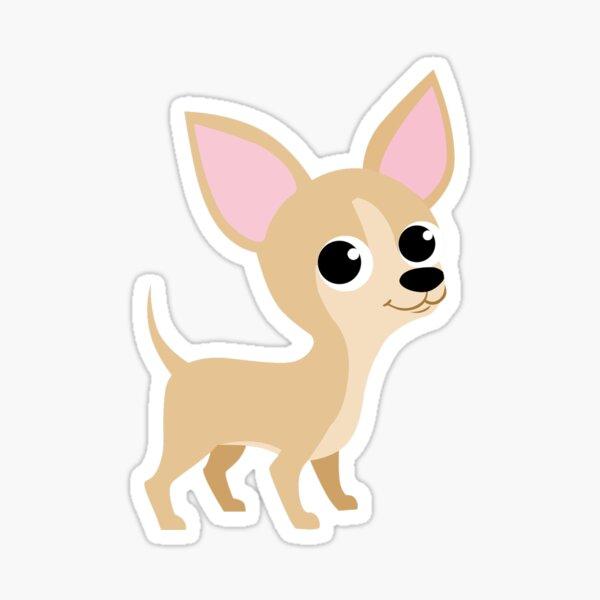 Cute Tan Chihuahua Sticker