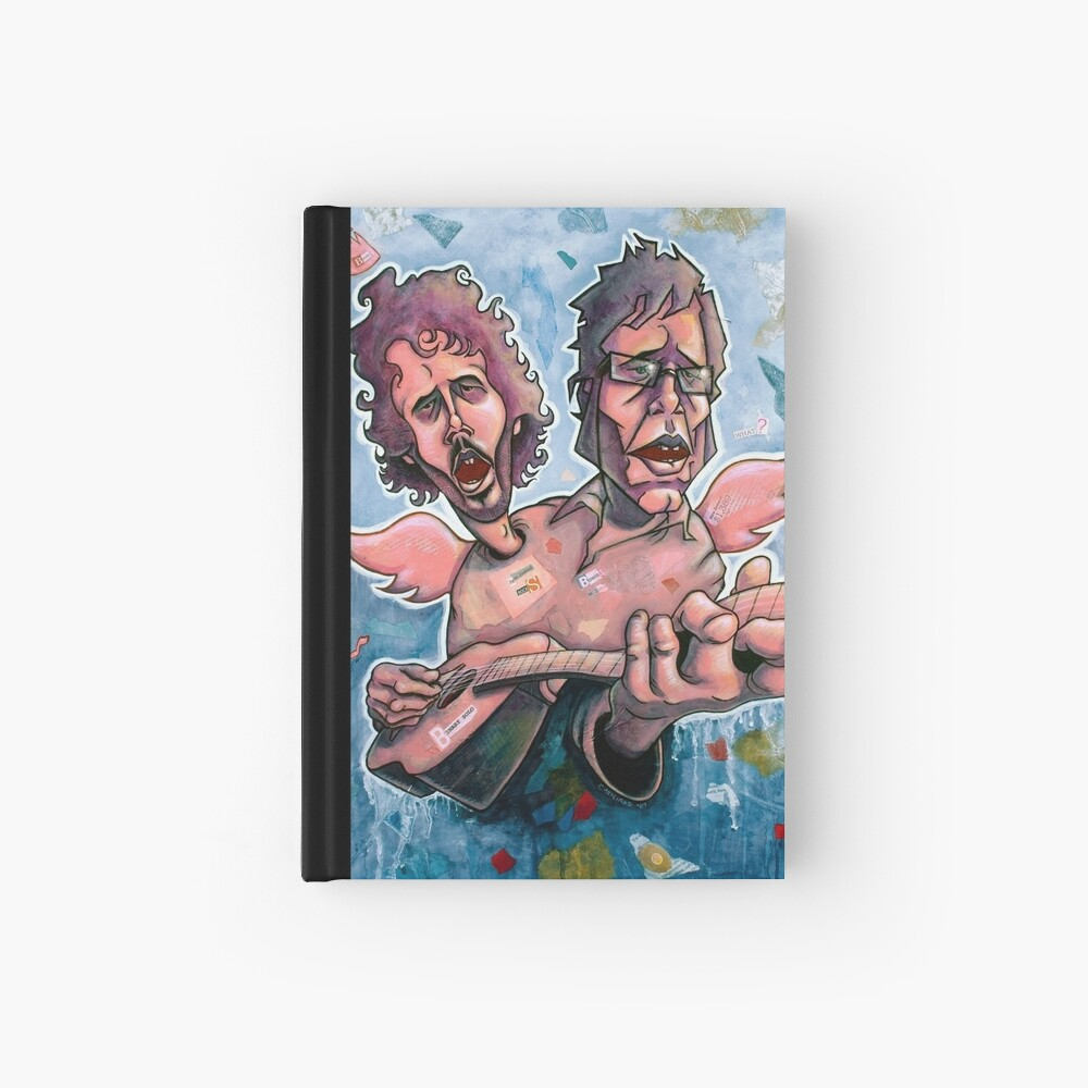 Bret and Jemaine Hardcover Journal