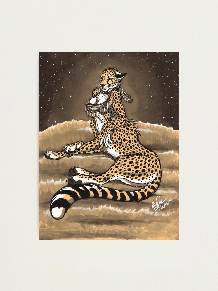 Alternate view of Cheetaurah Photographic Print