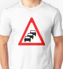 Traffic Queues Likley Sign T-Shirt