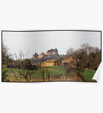 Chateau de Biron   in  Dordogne Poster