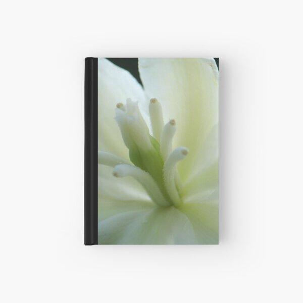 White Elegance Hardcover Journal