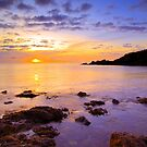Sunrise at Saltern Cove by DualAspect