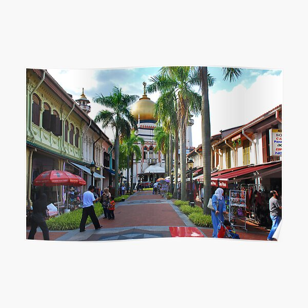 Singapore, Sultan Mosque 3 Poster