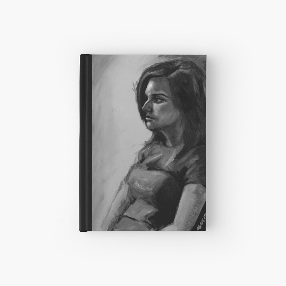 Life painting Hardcover Journal