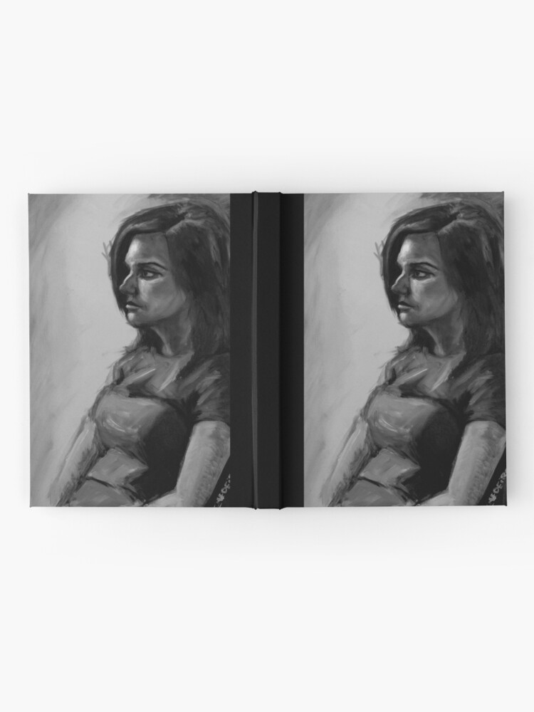 Alternate view of Life painting Hardcover Journal