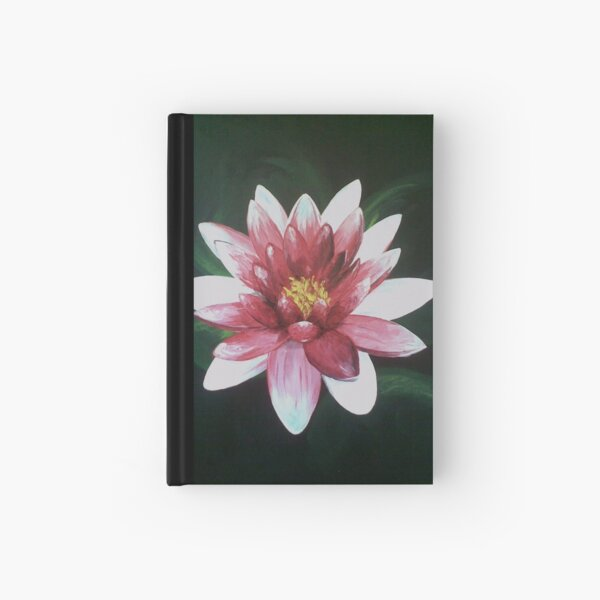Water Lily Hardcover Journal