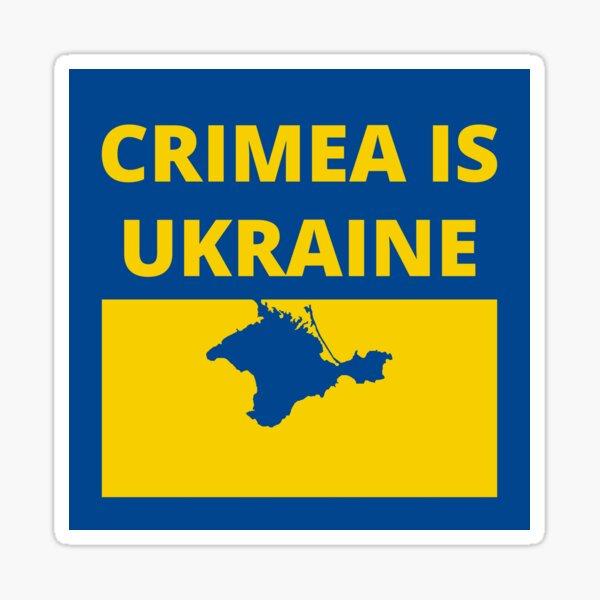 Crimea is Ukraine Sticker