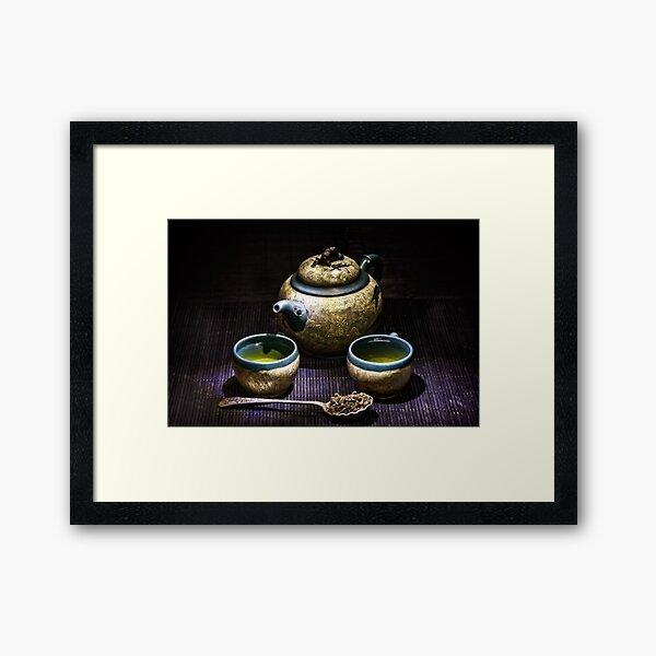 Oolong tea Framed Art Print