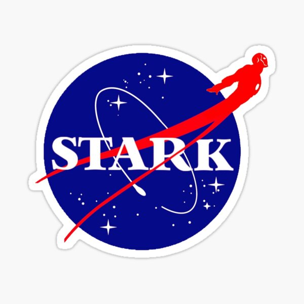 NASA Stark w / figure Sticker