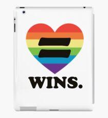 Love Wins. iPad Case/Skin
