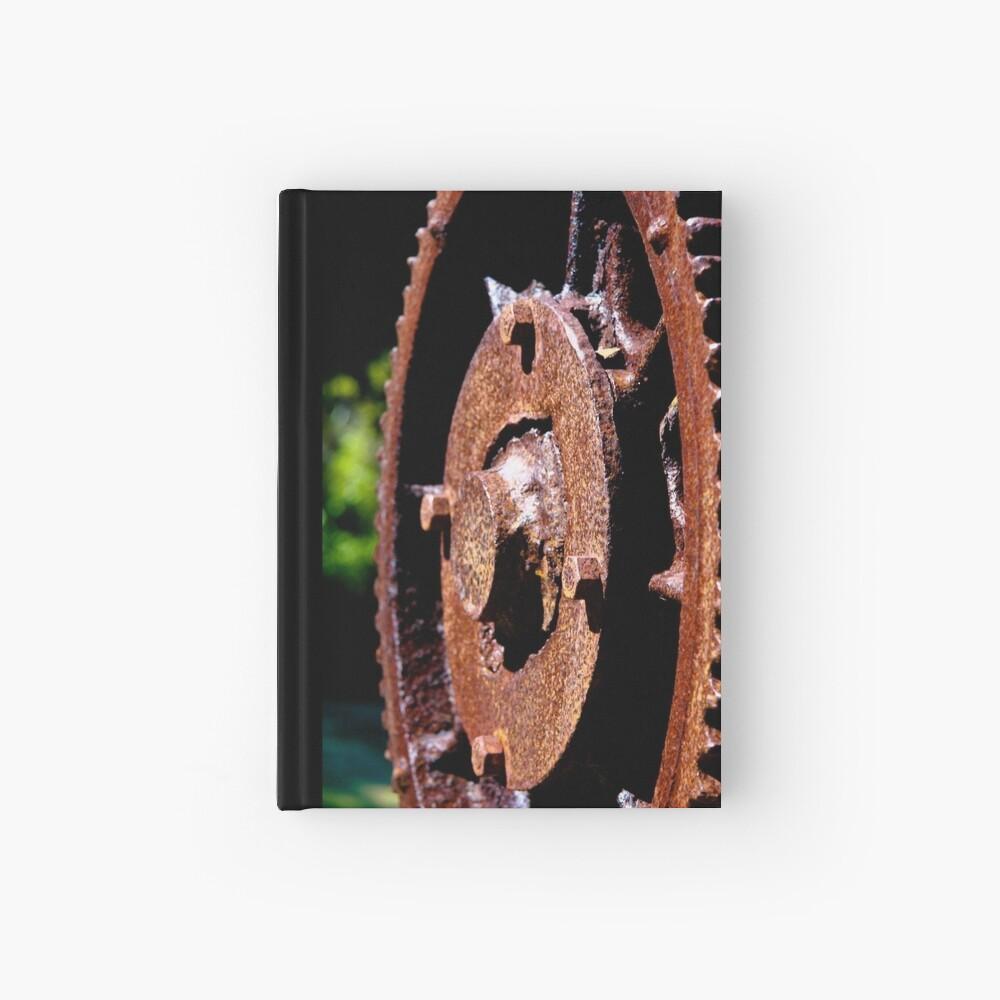 Rusty cog Hardcover Journal