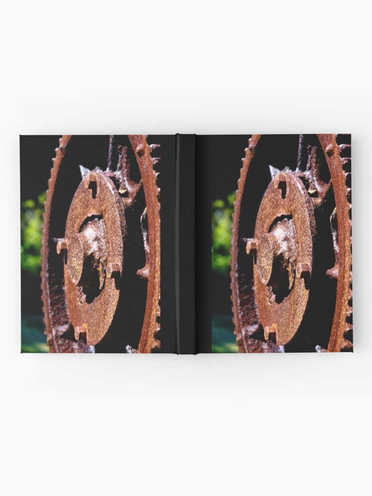 Alternate view of Rusty cog Hardcover Journal