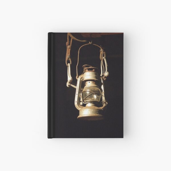 Lantern and bridle Hardcover Journal