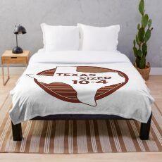 Texas Größe 10-4-Letterkenny Fleecedecke