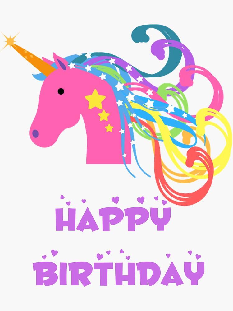 Happy birthday Unicorn by KellyTwinkle