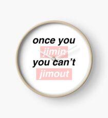Once you Jimin... Clock