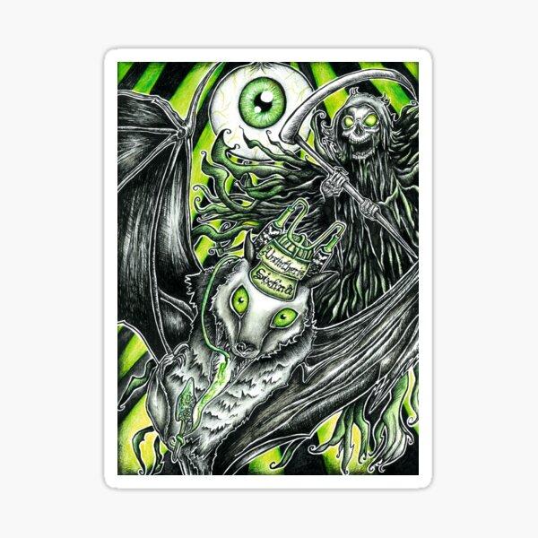 Absintherie Sixtina, Absurd Art Sticker