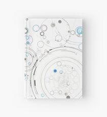 Orbital Mechanics - ink and silverpoint Hardcover Journal