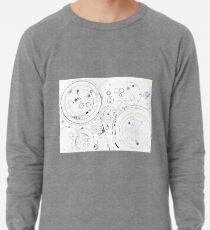 Orbital Mechanics - ink and silverpoint Lightweight Sweatshirt