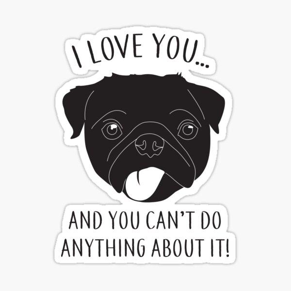 I Love You...  Sticker