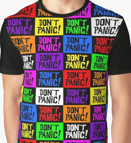 NDVH Don't Panic - Multicoloured Graphic T-Shirt
