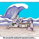 sandcastle by Jerel Baker