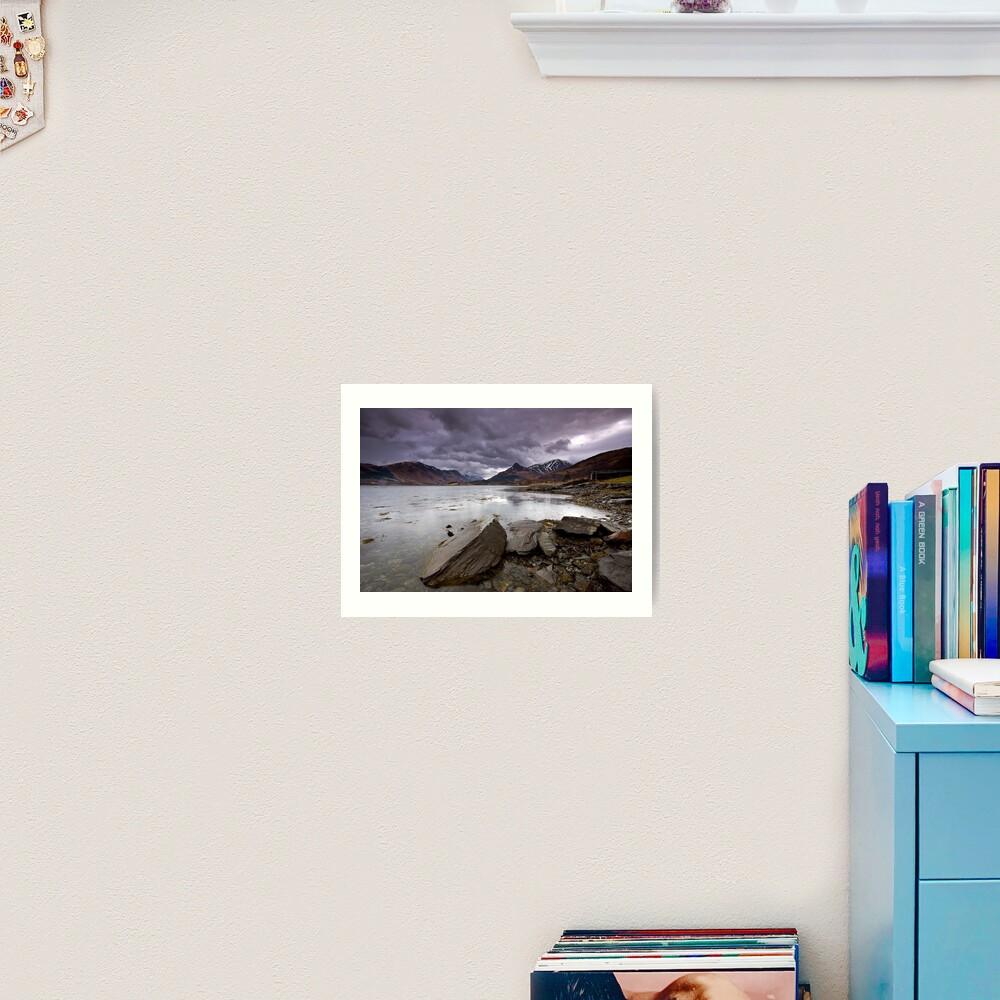 Loch Leven Art Print