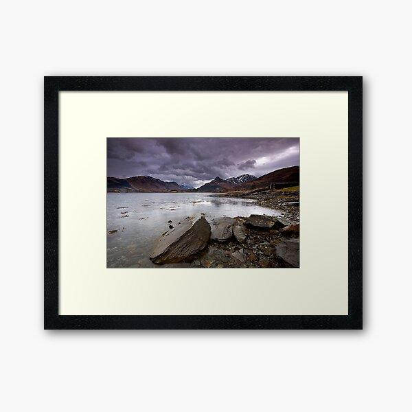 Loch Leven Framed Art Print