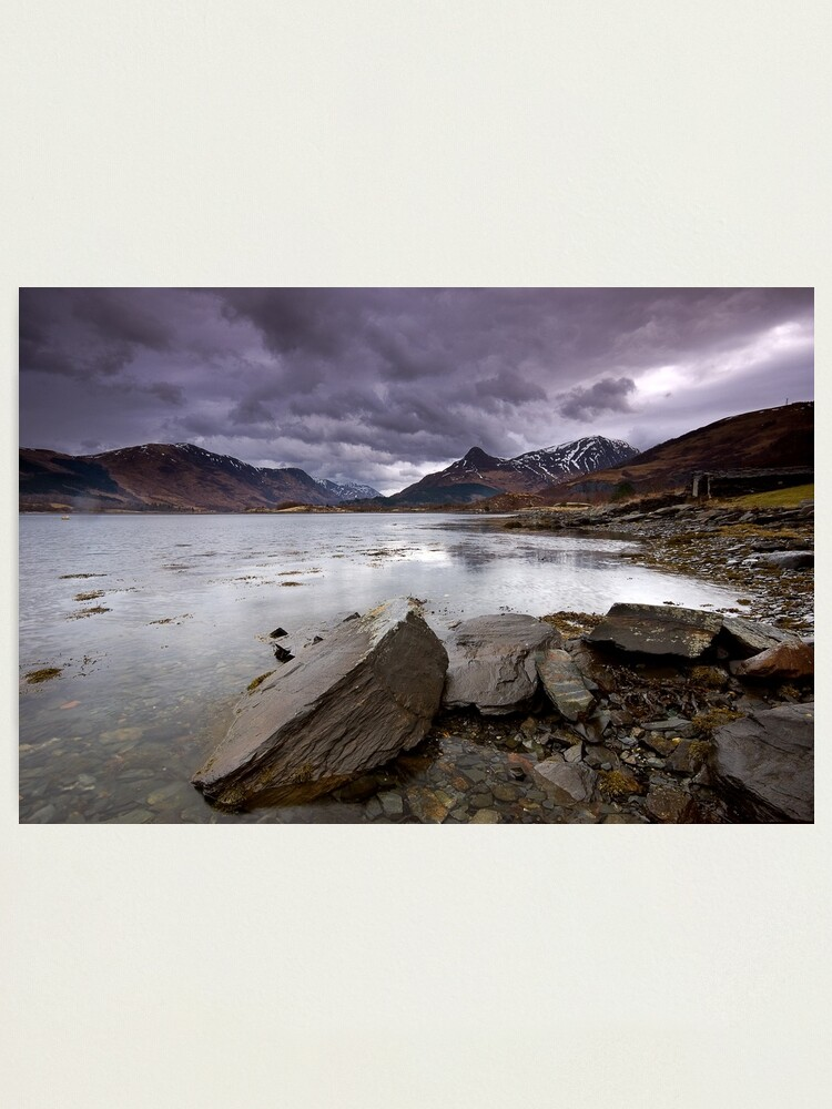 Alternate view of Loch Leven Photographic Print