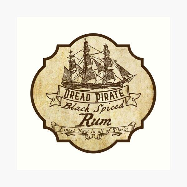 Dread Pirate Spiced Rum Art Print