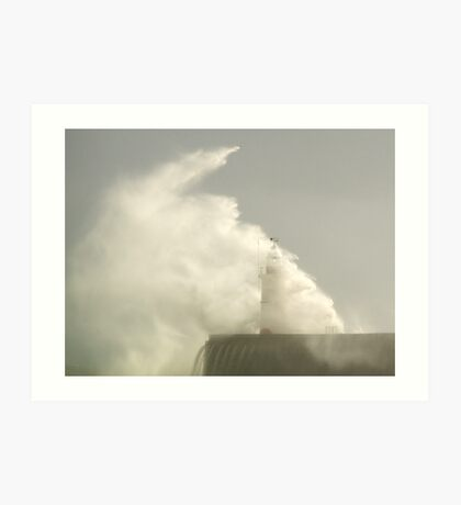 Another Storm , Another Day 4 Art Print