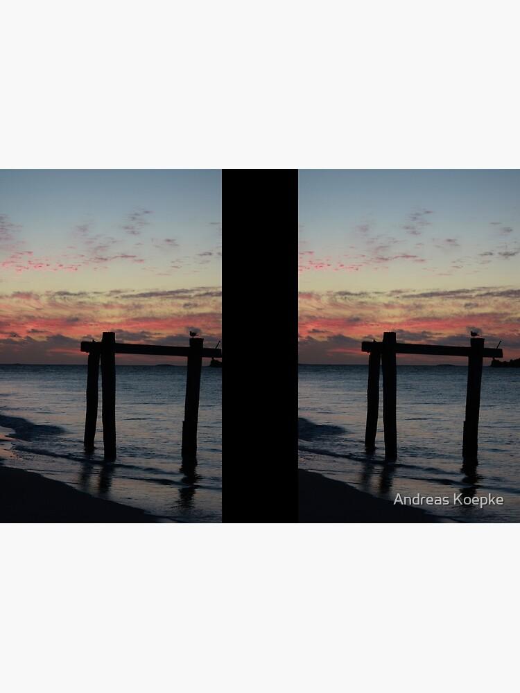 Hamelin Bay Sunset by mistered