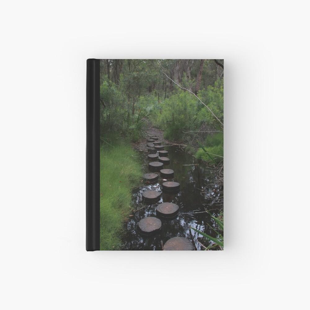 Stream crossing Hardcover Journal