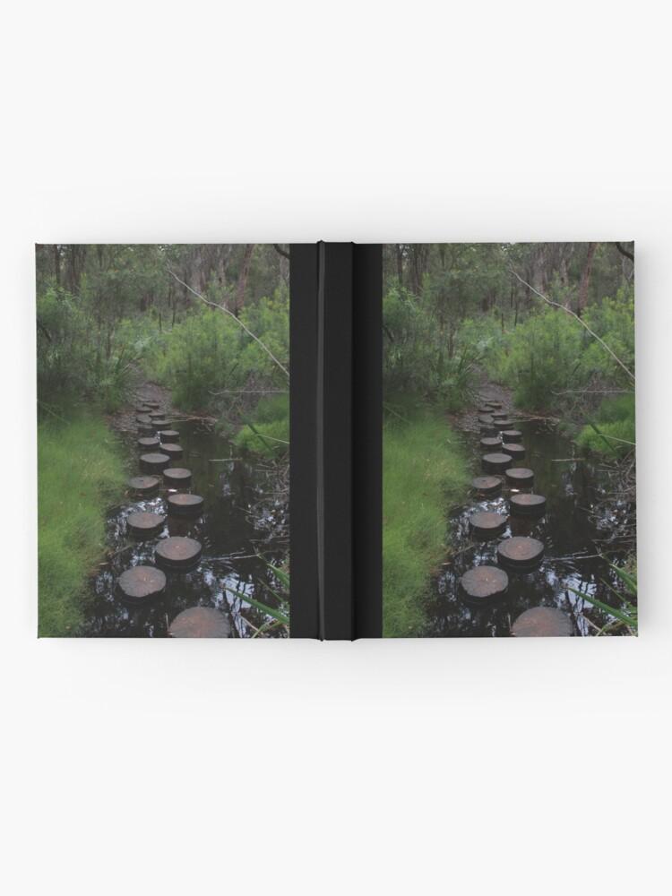 Alternate view of Stream crossing Hardcover Journal