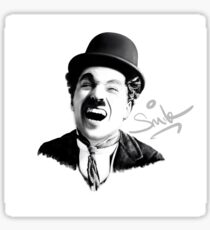 Charlie Chaplin - SMILE Sticker