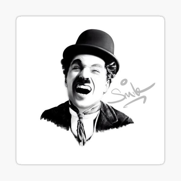 Charlie Chaplin - SMILE Sticker