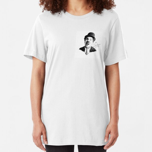Charlie Chaplin - SMILE Slim Fit T-Shirt