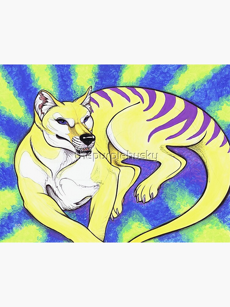 Thylacine by thepurplehusky