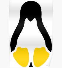 Linux tux penguin symbol Poster